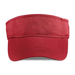 Adult Solid Low-Profile Twill Visor Thumbnail