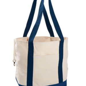12 oz. Organic Cotton Canvas Boat Tote Bag Thumbnail